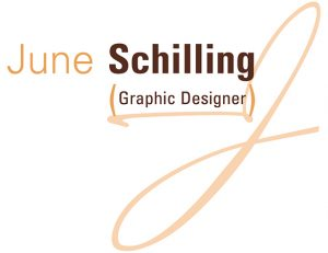 June Schilling Graphic Designer logo
